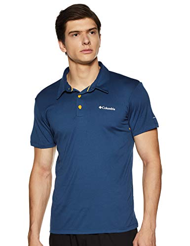 Columbia Triple Canyon Tech Polo Homme, Carbone, FR (Taille Fabricant : XL)
