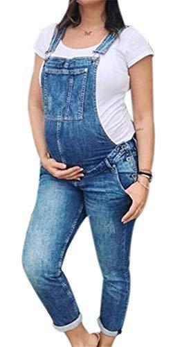 Each Women Mutterschaft Lätzchen Overalls Overalls Schwangere Frauen Denim Latzhose Jeans Overalls