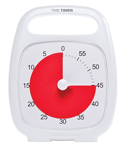 Time Timer Plus, White