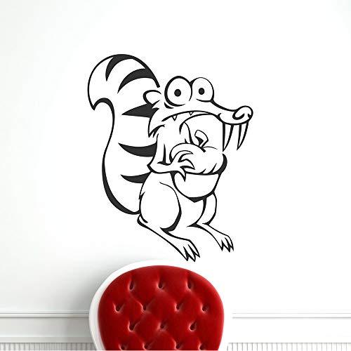 yaoxingfu DIY Ccartoon Mouse Decoración para el hogar Pegatinas de Pared de Vinilo para decoración del hogar Decoración para Fiestas en el hogar Wallp Card Color 85x100cm