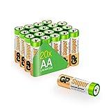20er Set AA-Batterien für den Leuchtstab
