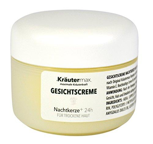 Kräutermax Nachtkerzenöl Gesichtscreme 1 x 50 ml trockene Haut Naturkosmetik