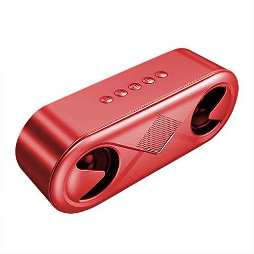 LRWEY S6 New HiFi Drahtloser Bluetooth Lautsprecher Super Bass Subwoofer Outdoor Portable für iPhone, Samsung usw.