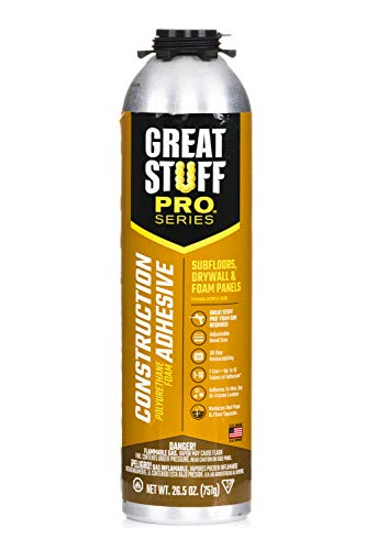 Great Stuff 343087 PRO 26.5-Ounce Construction Adhesive, Each