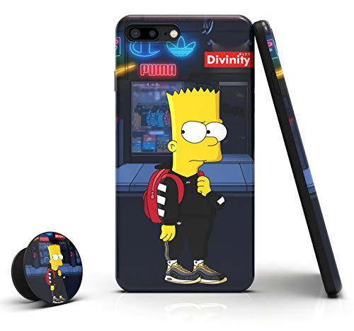 Divinity Flex Designed Case for iPhone 8 Plus & iPhone 7 Plus [Shock-Absorbing] [Scratch-Resistant] [Military Grade Protection] Hard PC + Flexible TPU Frame Cover for [ Apple iPhone 8+ | 7+ ]