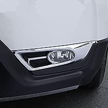 ZiWen 1 Set Chrome Styling Front Fog Light Cover Trim for Honda CRV CR-V 2017 2018