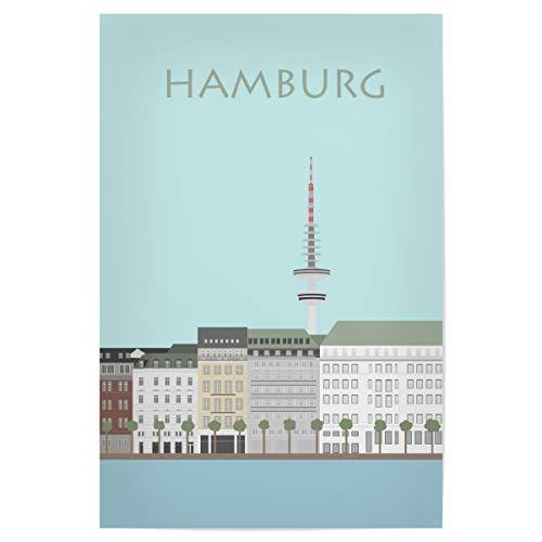 artboxONE Poster 45x30 cm Hamburg Städte/Hamburg Hamburg 5