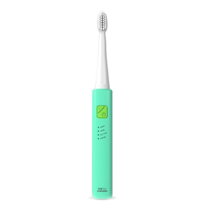 セクション定期的に通行料金電子歯ブラシ 超音波ロータリー ノンスリップ防水歯ブラシ 歯科口腔衛生