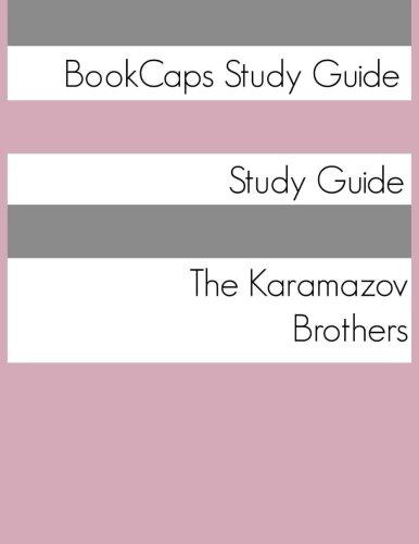 Study Guide The Karamazov Brothers