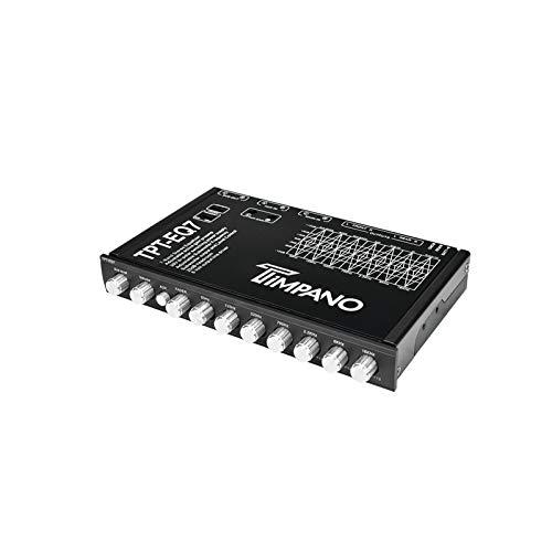 Timpano TPT-EQ7 7 Band Graphic Equalizer Subwoofer-Level Control EQ 7V