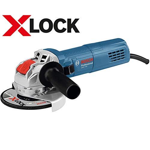 ボッシュ(BOSCH) ディスクグラインダー(X-LOCK・ダイヤル式無段変速・再始動安全機構) GWX750-125S
