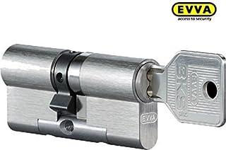 Evva 3KS plus a cilindro per ad alta sicurezza con 5chiavi 76//k31mm C = 107mm K = pomello lunghezza laterali con speciale foratura u Protezione anti-effrazione KZS a//B struttura modulare SYMO