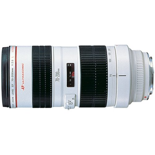 Canon EF 70-200mm f/2.8L USM - Objetivo (18/15, 1,5 m, 70-200 mm, 29°, 19°, 34°)