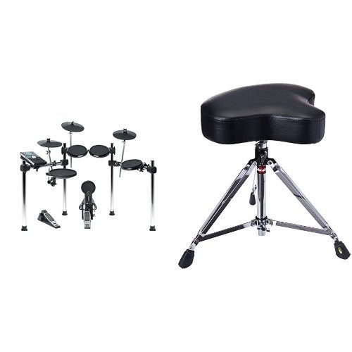Alesis Forge Kit   Eight-Piece Electronic Drum Set with Forge Drum Module and USB Port for User-Loaded Samples