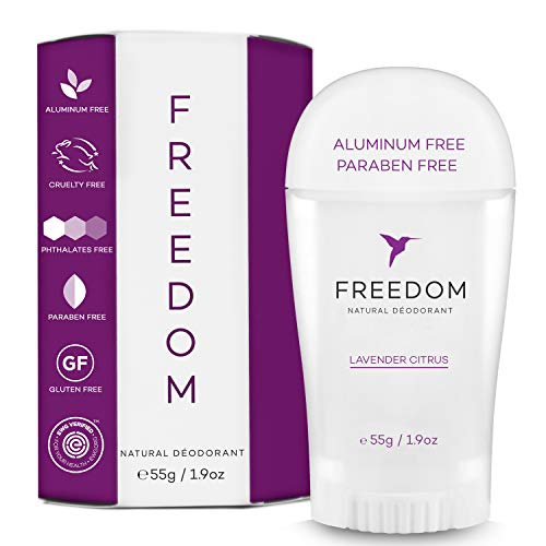 Freedom Natural Aluminum Free Deodorant Stick For sensitive Skin for...