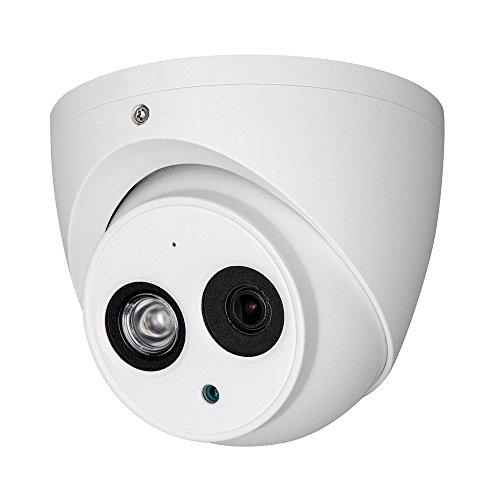 Dahua HAC-HDW1200EM-A-S3 Telecamera Eyeball Dome Fisso 4 in 1, Bianco