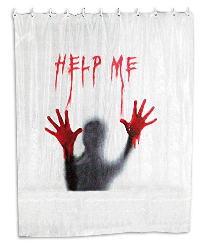 Duschvorhang Help Me