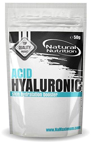 Rein Hyaluronsäure Pulver 50g | Pure Hyaluronic Acid Powder 5000mg | Hergestellt in der EU