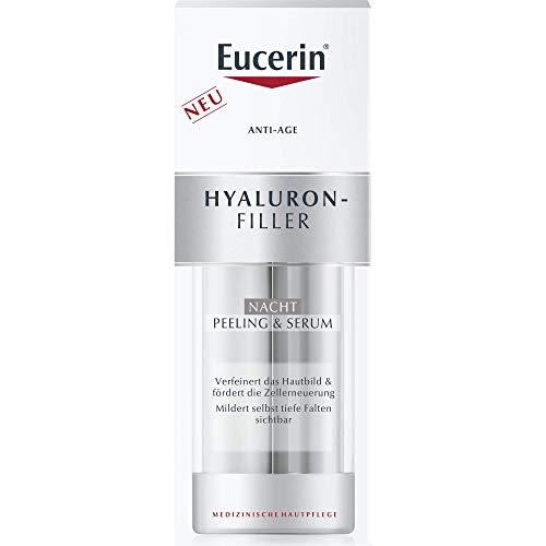 mächtig der welt Euseline Anti-Age Hyaluronic Filler Nachtpeeling & Serum, 30 ml Serum