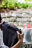 Novillo Servietten aus hochwertigen Leinen in Schwarz [4 Stück] - 45 x 45 cm - Stoffservietten aus 100% Leinen - Die Leinenservietten sind strapazierfähig, saugstark und schmutzabweisend - 4