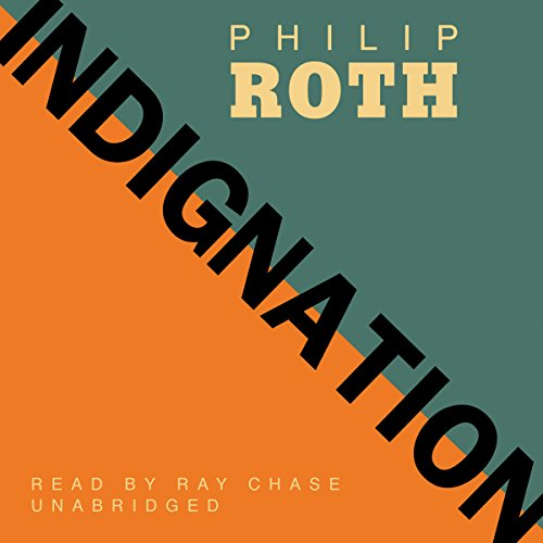 Indignation audiobook cover art