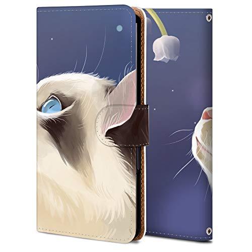 Google pixel 4a スマホケース 手帳型 カメラ穴 スタンド機能 カード収納 耐衝撃 高級PUレザー 全面保護 軽量 オリジナルなデザイン オーダーメイド 多機種対応 WX001-猫 アニマル アニメ 11769