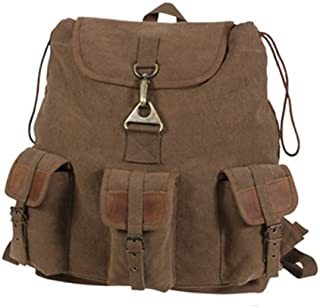 Rothco Vintage Wayfarer Backpack With Leather Accents