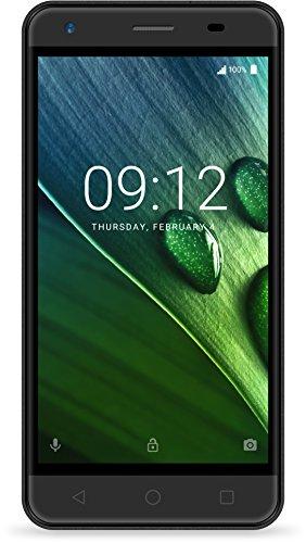 Acer Liquid Z6 E Dual Micro-SIM Smartphone (12,7 cm (5 Zoll) HD Display, 8GB Speicher, 2.000mAh Akku, Android 6.0) schwarz