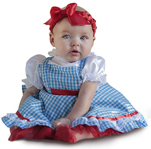 Princess Paradise Baby Girls' Deluxe The Wizard of Oz Dorothy Costume, As Shown, 3/6M