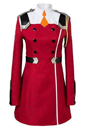 DARLING in the FRANXX Zero Two Code?002 Uniform Kleid Cosplay Kostüm Damen M