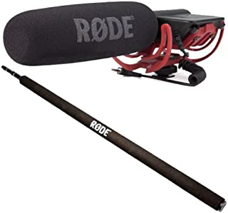 Rode VideoMic Rycote Micrófono direccional + Micro Boom Pole 2m