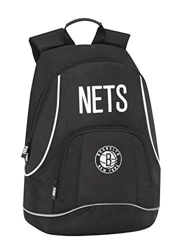 Brooklyn Neets NBA Zaino Americano 2 Cerniere - Scuola/Tempo Libero cm 30 x 41h x 17 circa