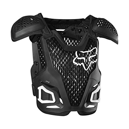 Fox Racing 2020 Youth R3 Roost Deflector (Black)