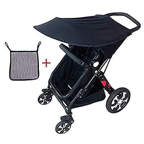 Adesugata Cochecito de Bebé,Sombrilla Para Cochecito,Bebé Carrito Parasol, UV Protección Rayos Para...