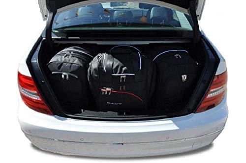 KJUST Taschen 4 STK kompatibel mit Mercedes-Benz C Limousine W204 2006-2014