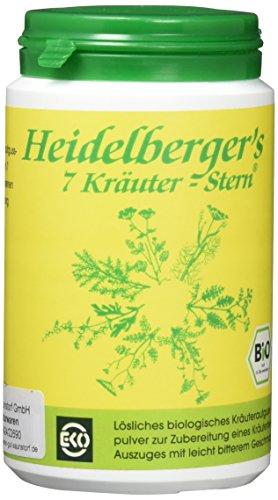 bio heidelbergers 7 kräuter stern tee 100 g