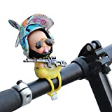 Motorcycle, Bike Handlebar Decorations Car Dashboard Accessories Cool Tech Rubber Toy With Propeller Cool Stuff Gift For Adult, Kids(Underwater World)