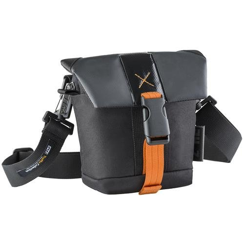 24/7 Traffic Collection DSLR Small Holster Camera Bag with Adjustable/ Removable Strap & Built-In Weather Cover