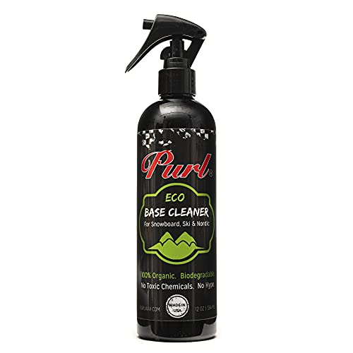PURL Eco Ski & Snowboard Base Cleaner, 12 oz Spray