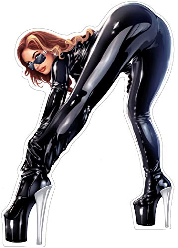 Pinup Aufkleber Fetish Latex Autoaufkleber Sticker Girls Sexy