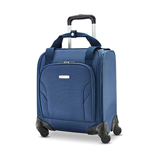 Samsonite Underseat Carry-On Spinner with USB Port, Ocean, One Size
