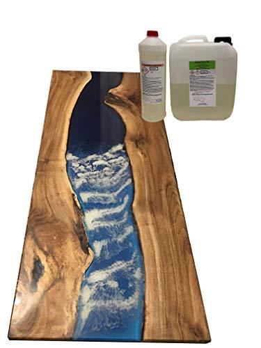otto-online-handel 1,2kg Transparentes Gießharz | Profi Qualität glasklar & geruchsarm | Epoxidharz mit Härter für Formen + Holz