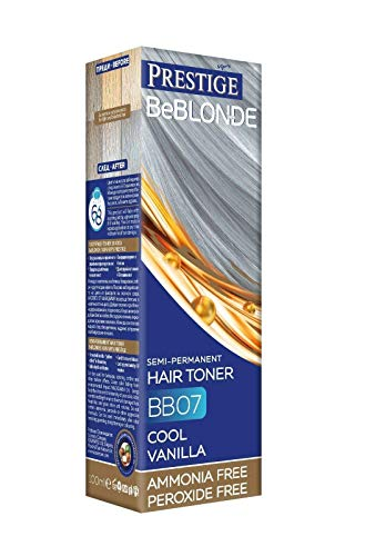 Vip's Prestige Be Blonde Tinte Baño de Color Cool Vanilla 07 Sin Amoníaco - 100 ml