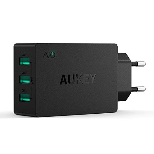 Carregador AIPOWER SmartCharge 3 Portas USB 2400mAh - Preto