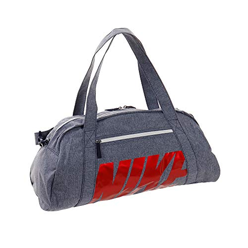 NIKE BA5490 Bolsas de Deporte, Mujer, Blackened Blue/White/University Red, Talla Única