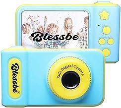 BLESSBE Kids Digital Camera, 2 Inch 1080 HD Screen Mini Child Camera (Blue) BB52
