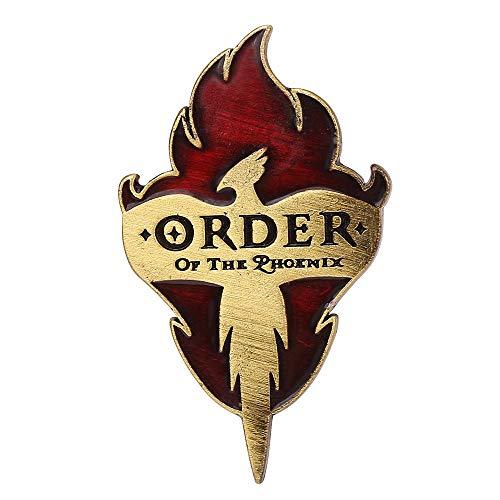 SFFSMD Ollivanders Zauberstäbe Shop Emaille Brosche Magic Stick Shop Broschen Harry Film Schmuck Cosplay Abzeichen Revers-Stifte (Farbe : XZ086)