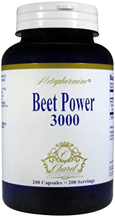 Metaphormine Super Beet Root Powder 3000mg Capsules Supports Healthy Blood Pressure Best High product image
