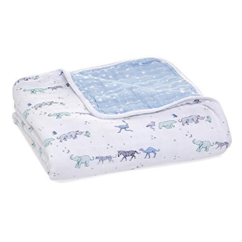 aden + anais™ dream blanket Baumwoll-Musselin-Decke cotton muslin rising star