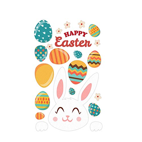 AQ89 Home Decor, HAPPY EASTER Wall Sticker PVC Self-adhesive Wall Sticker Can Be Removed, for Home & Garden, Easter Sale